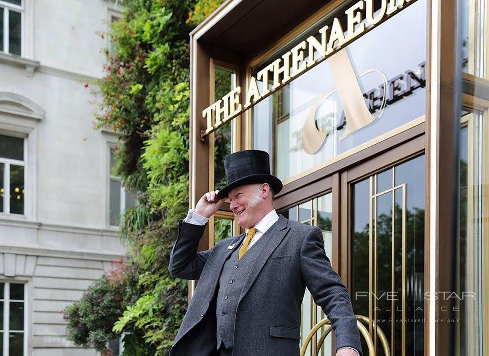 Warm Greetings From Athenaeum Hotel and Apartments, London, United Kingdom