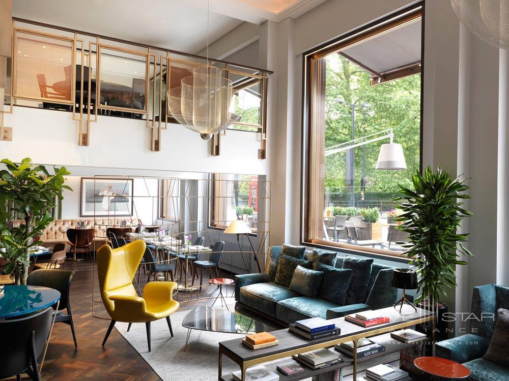 Lounge at Athenaeum Hotel and Apartments, London, United Kingdom