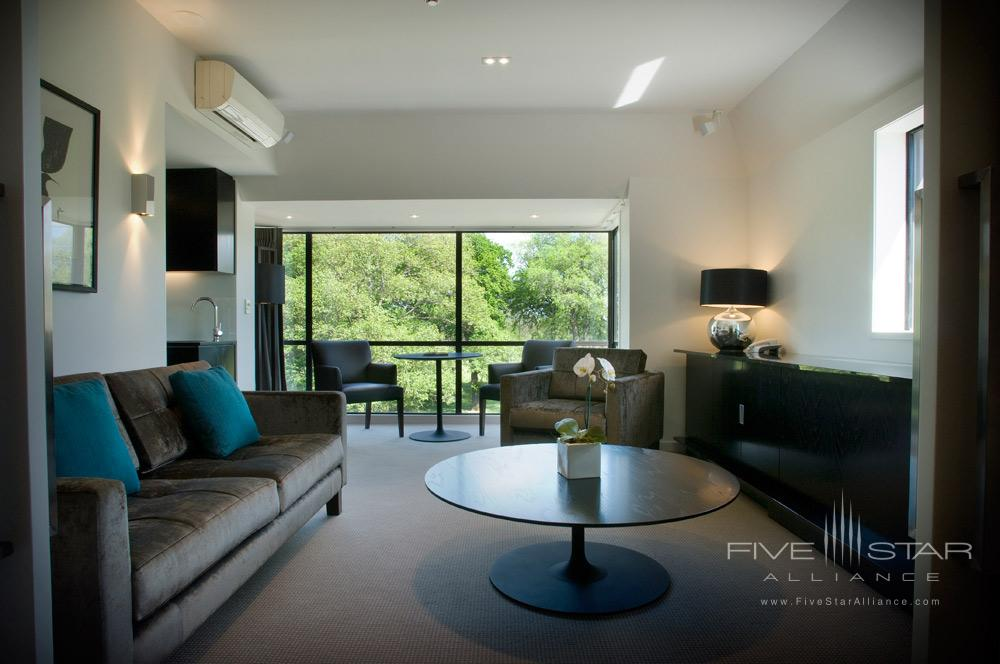 Park Suite Living Area at The George ChristchurchNew Zealand