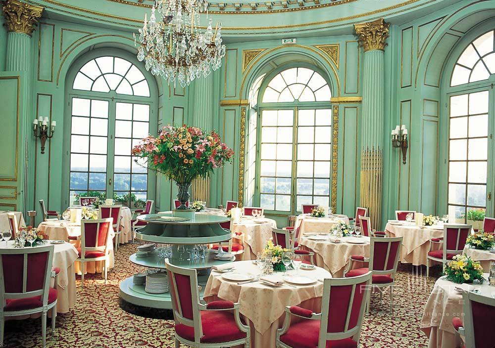 Chateau D Artigny dining venue, Montbazon, France