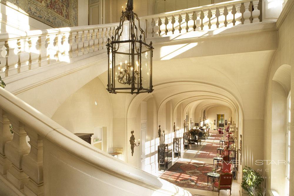 Chateau DAntigny lobby, Montbazon, France