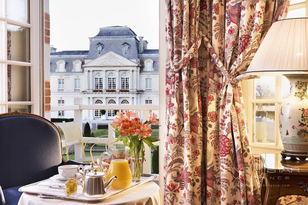 Chateau DAntigny jr suite terraceMontbazonFrance
