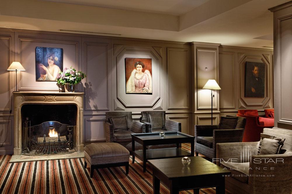 Lounge at Relais Christine, France