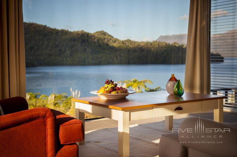 Tarawera Suite Lounge Area