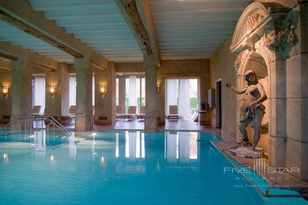 7x14-metre indoor Roman swimming pool at Chateau St. Gerlach