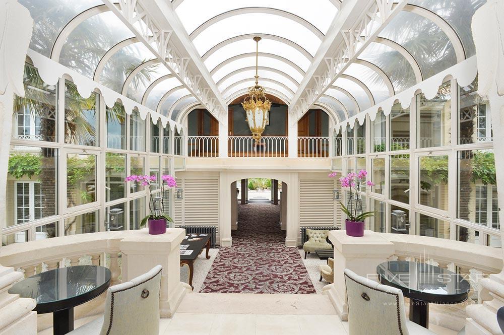 Lobby at Hotel Chateau Grand Barrail Saint EmilionFrance
