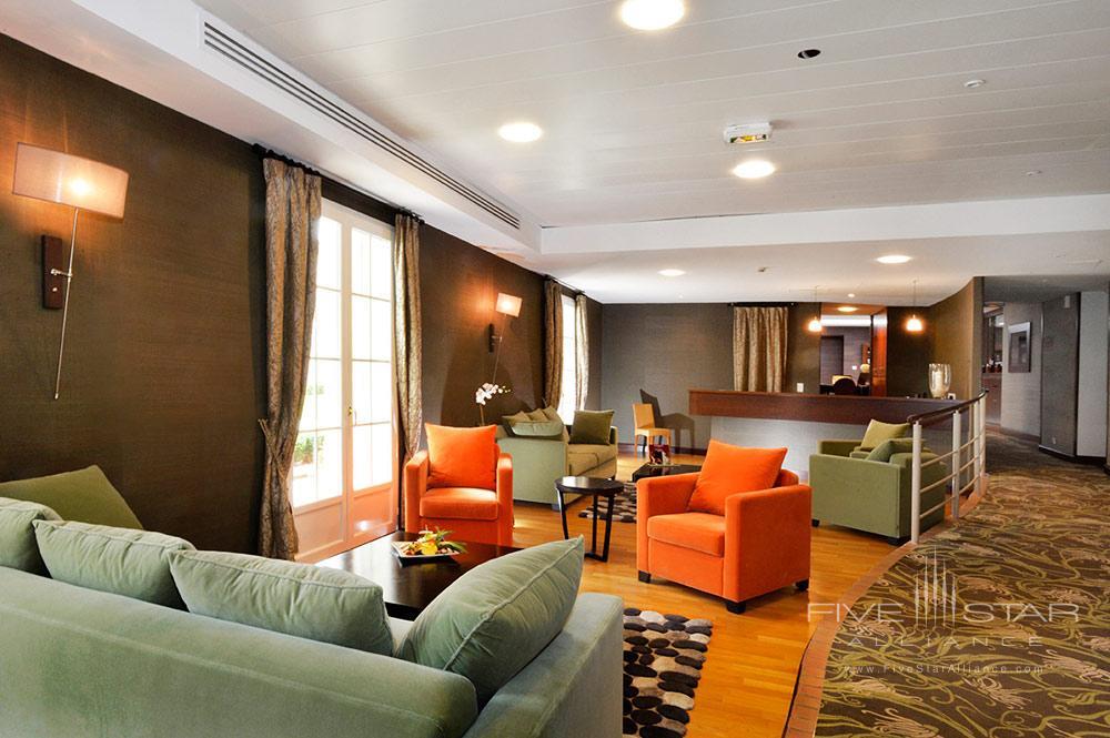 Spa Lounge at Hotel Chateau Grand Barrail Saint EmilionFrance