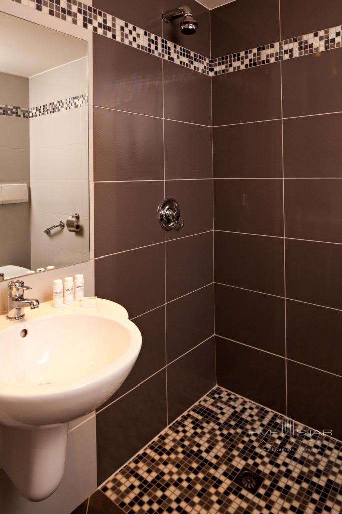 Handicap Bathroom at Hotel Chateau Grand Barrail Saint EmilionFrance