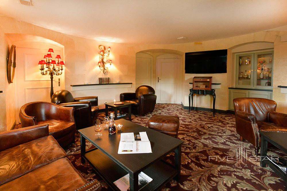 Smoking Room at Hotel Chateau Grand Barrail Saint EmilionFrance