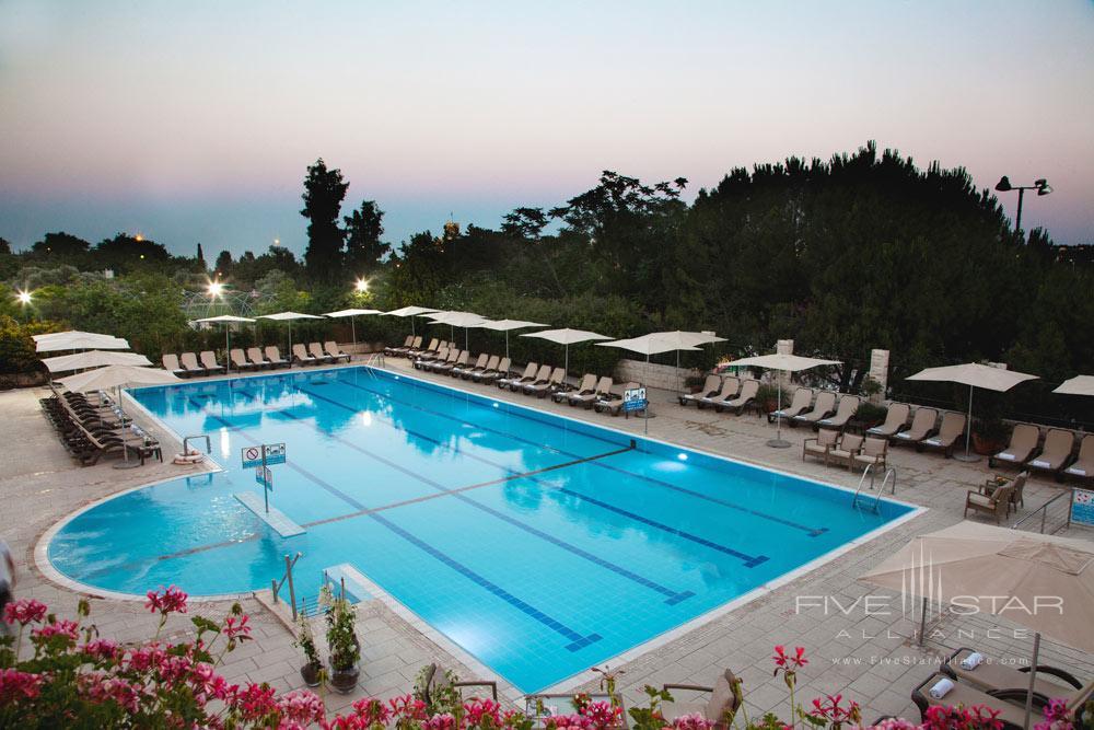 Pool at Inbal Jerusalem