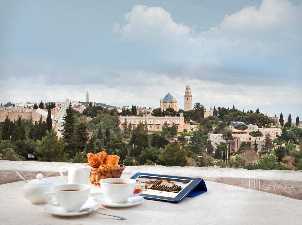 Executive Lounge at Inbal Jerusalem