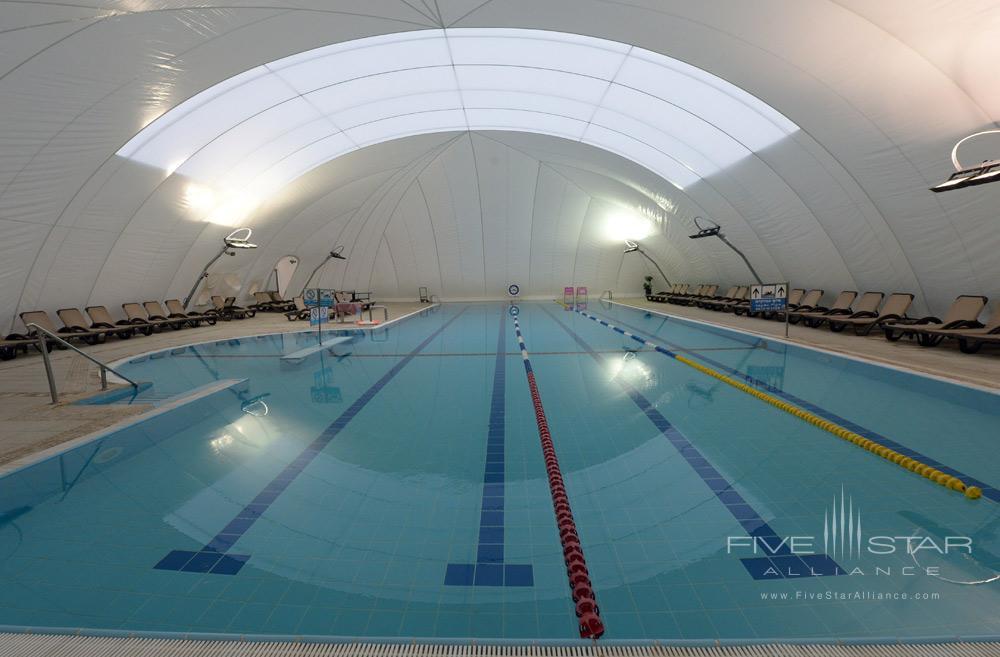 Indoor Pool at Inbal Jerusalem
