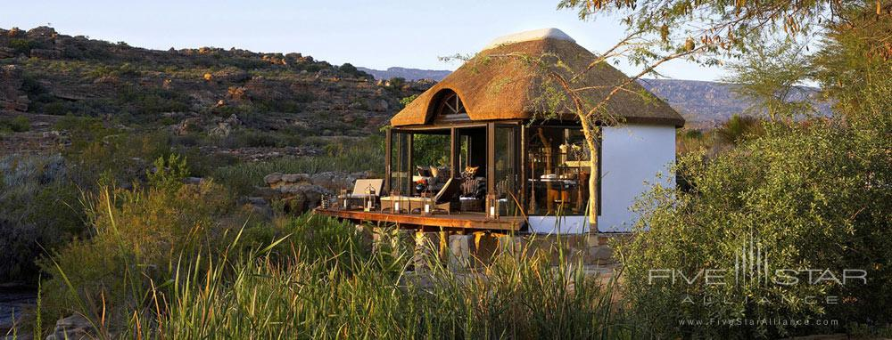 River Side Gazebo at Bushmans Kloof Wilderness Reserve Western CapeSouth Africa