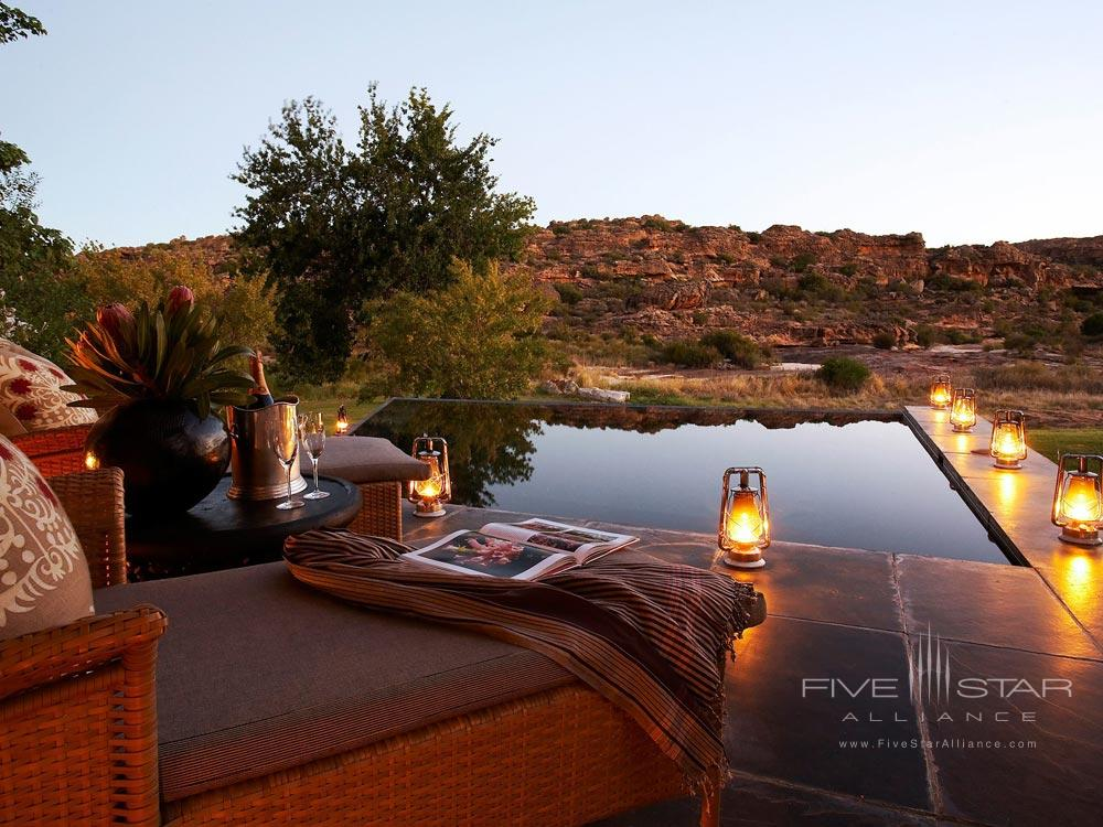 Lounge at Bushmans Kloof Wilderness Reserve Western CapeSouth Africa