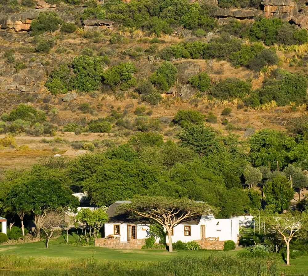 View of Bushmans Kloof Wilderness Reserve