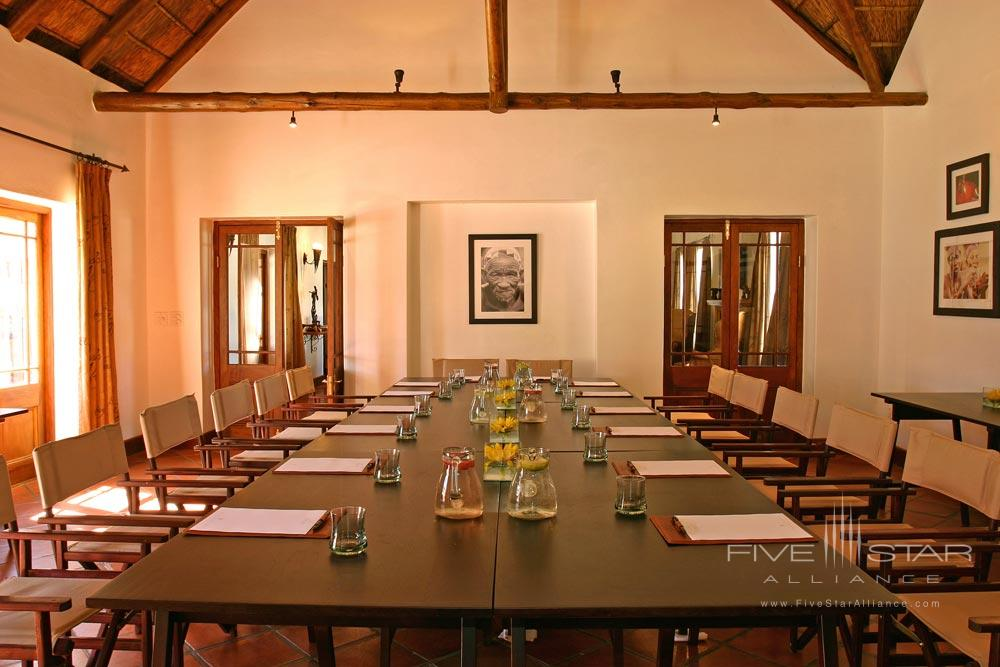 Conference Room at Bushmans Kloof Wilderness Reserve