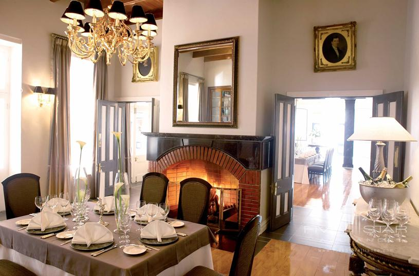 Grande Roche Private Dining Room
