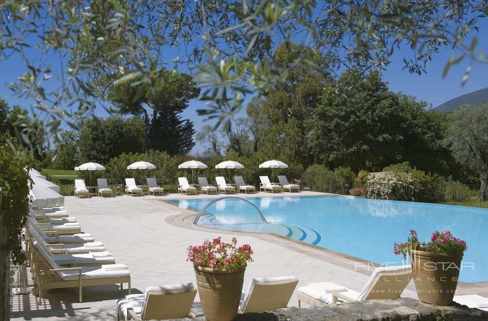 Outdoor Pool at Chateau Saint-Martin and SpaVenceFrance