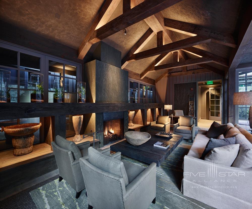 Lounge at Meadowood Napa Valley, CA