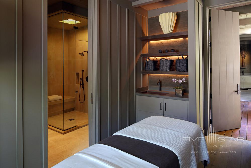 Single Suite Spa at Meadowood Napa Valley, CA