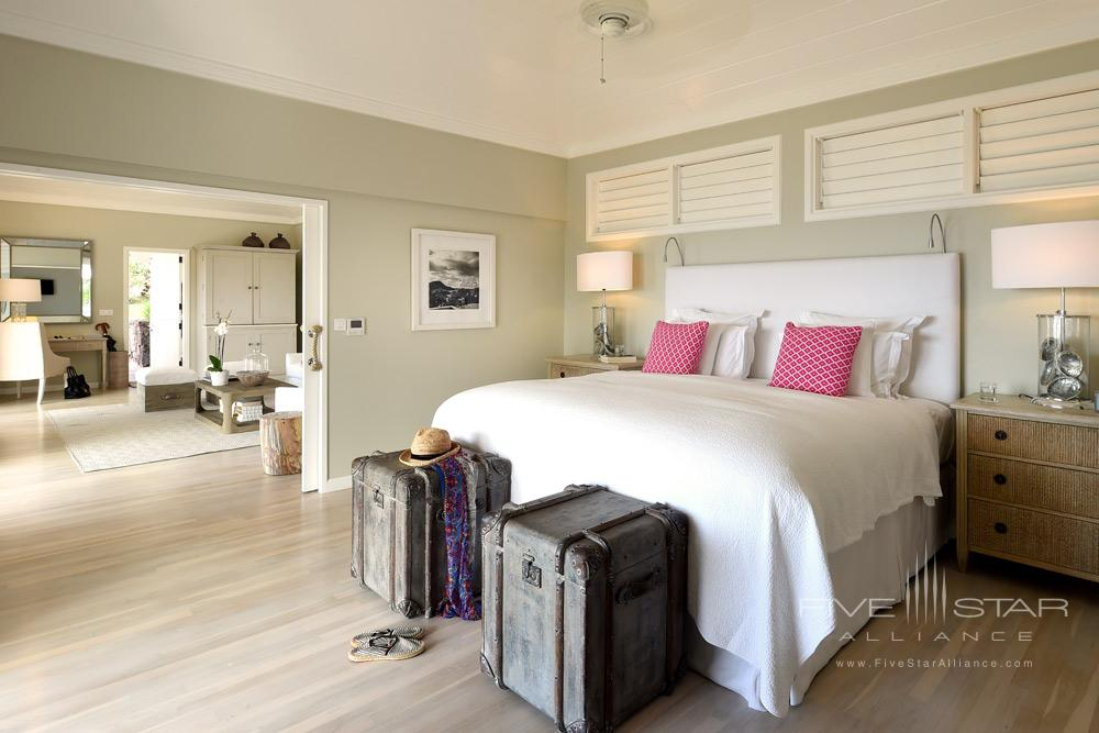 Guestroom at Hotel Le Toiny, St Barthelemy
