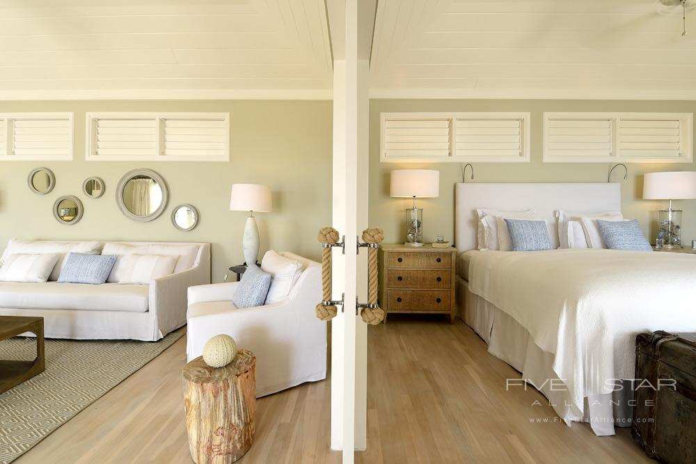 Guestroom With Seating Area at Hotel Le ToinySt Barthelemy