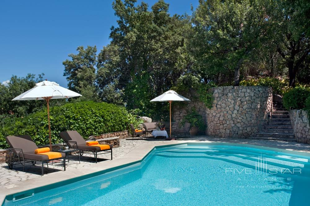 Master Suite with Private Pool at ll PellicanoItaly