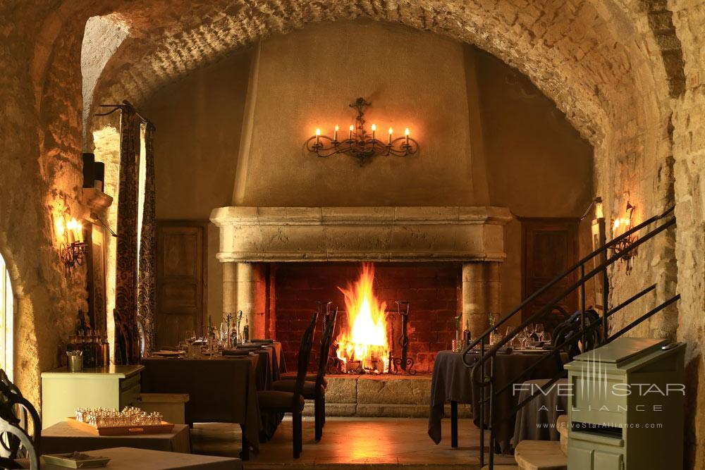 Lounge by the Fire at Hotel Crillon Le Brave