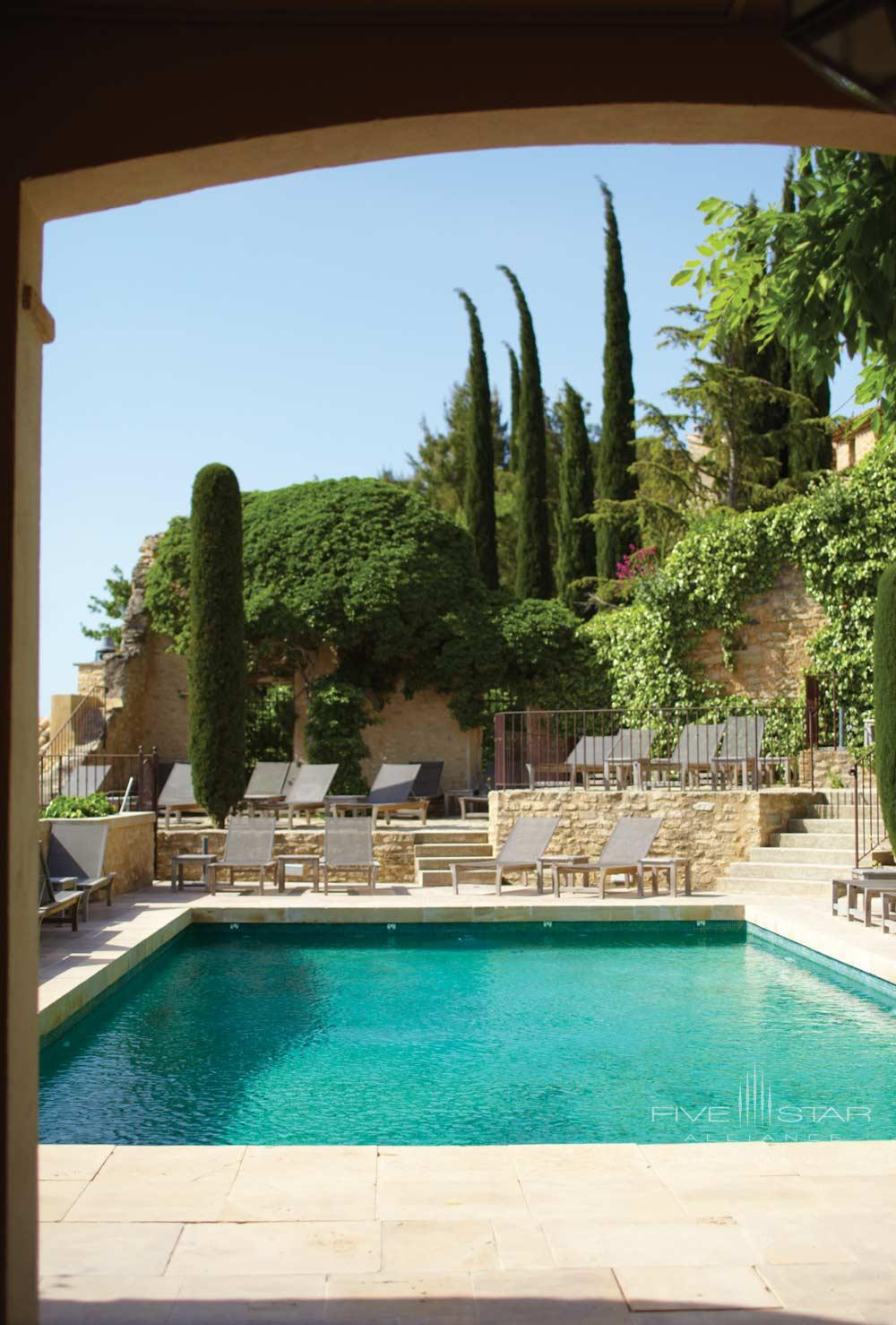 Outdoor Pool at Hotel Crillon Le Brave