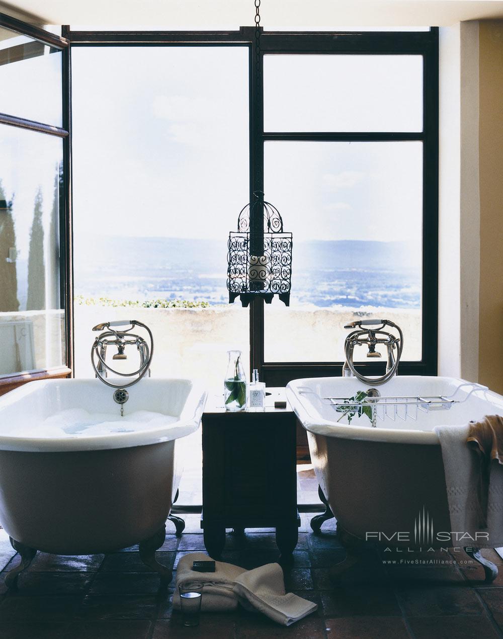 Double Bath at Hotel Crillon Le Brave