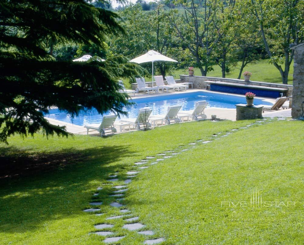 Pool at Chateau De NoirieuxFrance