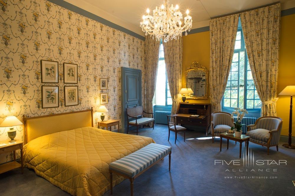 Guestroom at Chateau De NoirieuxFrance
