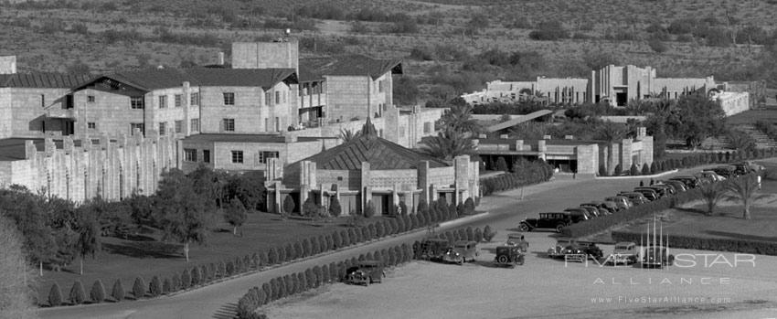 Aerial Photo of The Arizona Biltmore Hotel in Phoenix -The Jewel of the Desertsince 1929.
