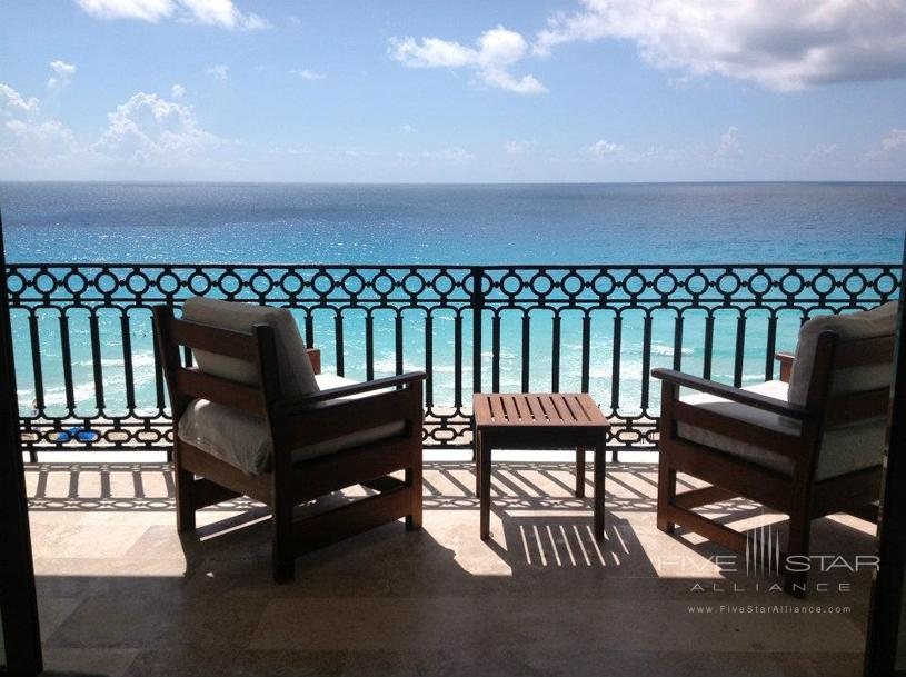 Sandos Cancun Luxury Experience Resort Deck View