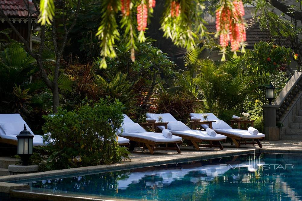 Pool at Taj West EndBangalore
