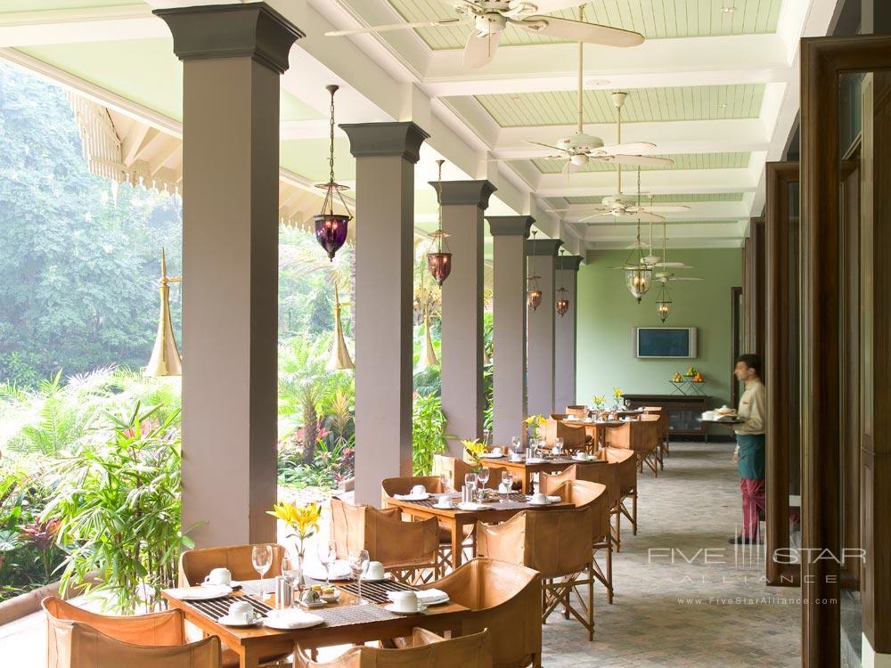 Terrace Dining at Taj West EndBangalore