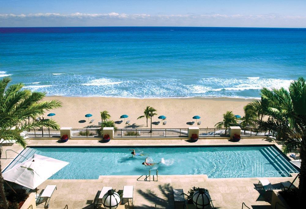Outdoor Pool and Beach Views at The AtlanticFlorida