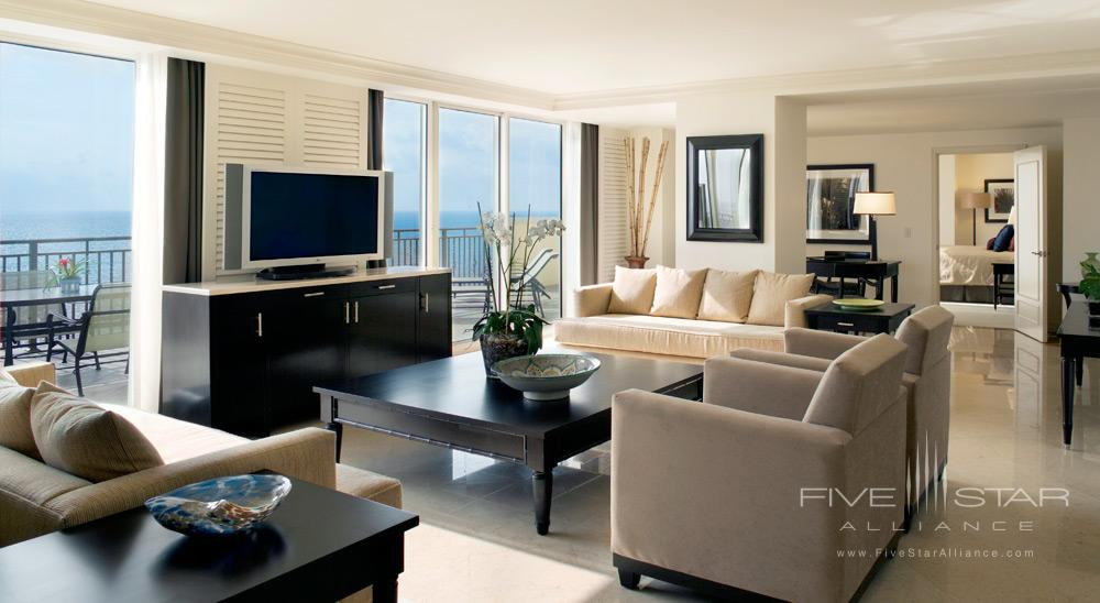 Suite Family Room at The AtlanticFlorida