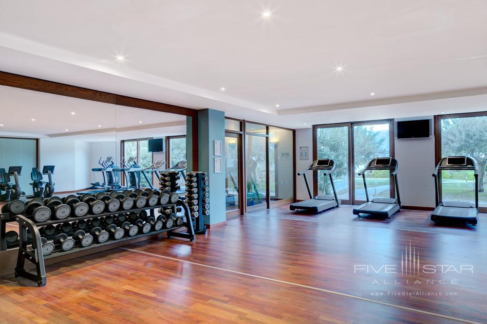 Gym at Blue Palace Resort and SpaGreece