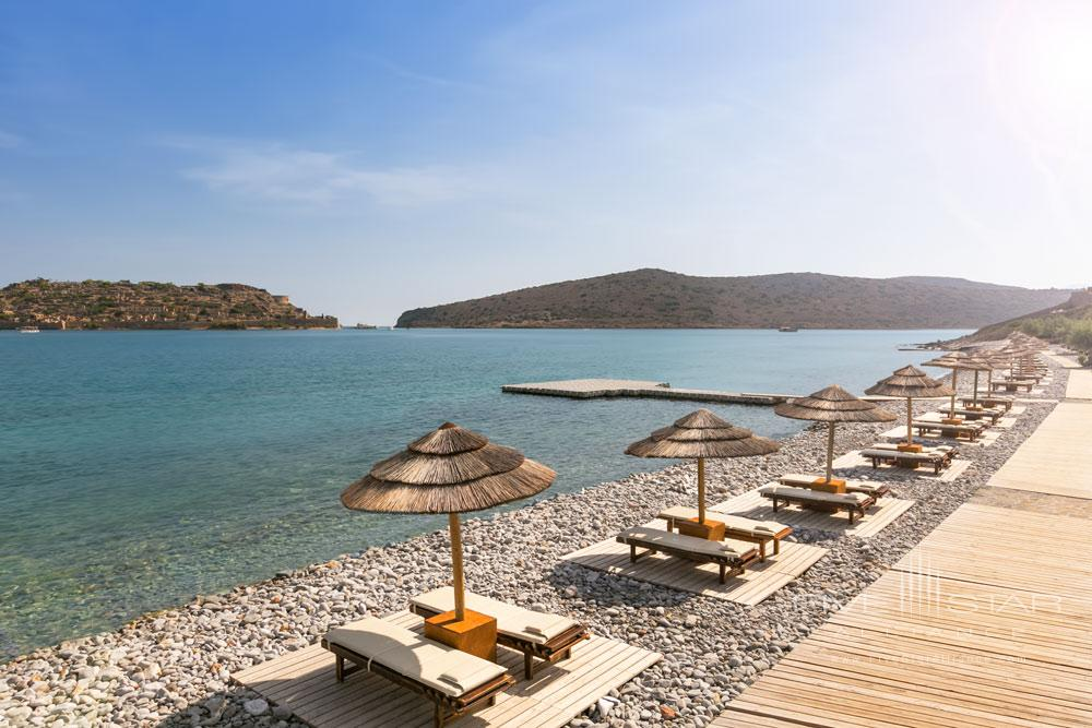 Private Beach at Blue Palace Resort and SpaGreece
