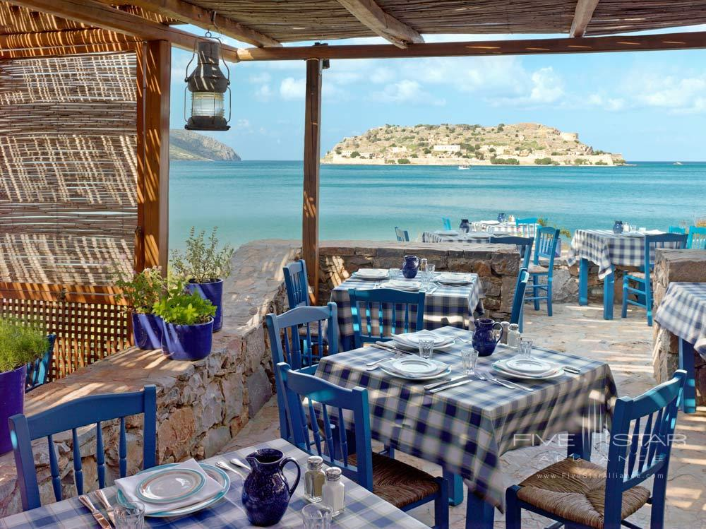 Dining with Ocean Views at Blue Palace Resort and SpaGreece