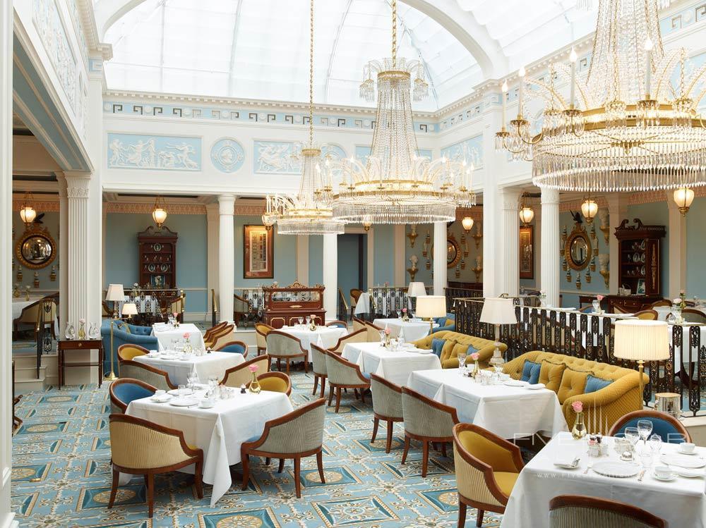 Dining Room at The LanesboroughLondonUK