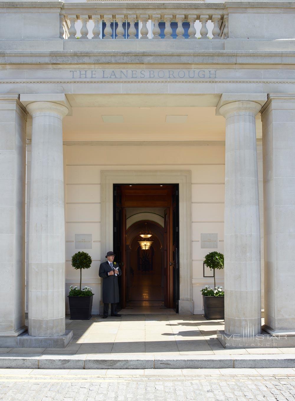 Entrance to The LanesboroughLondonUK