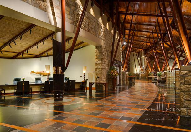 Lobby at Arabella Hotel and Spa Cape TownSouth Africa