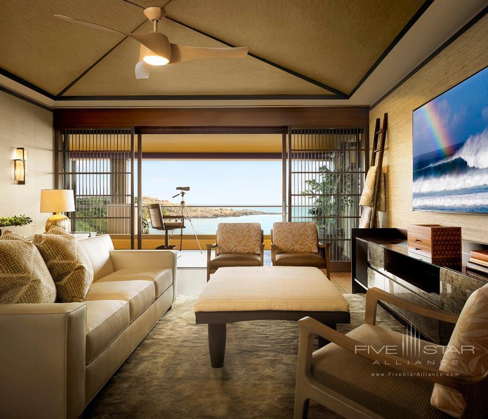Suite Lounge at Four Seasons Resort LanaiLanaiHI