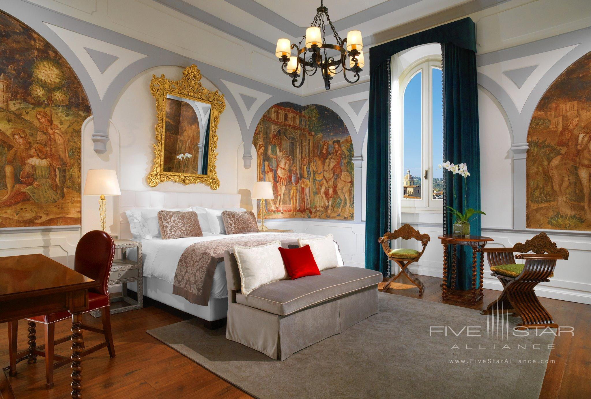 The St. Regis Florence Arno River View Room