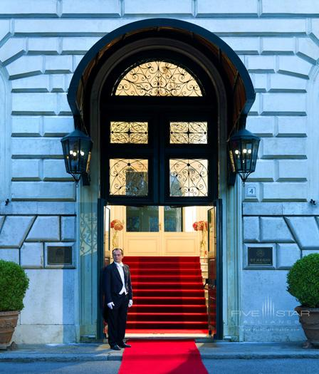 The St Regis Grand Rome Diplomatic Entrance