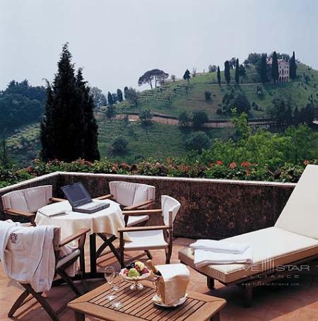 A bedroom terrace