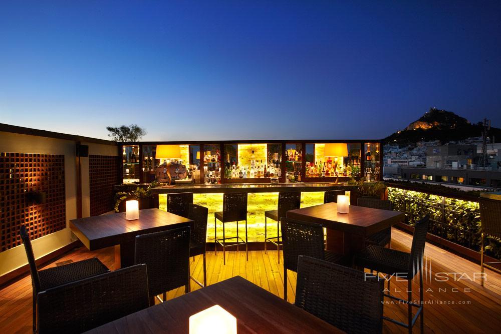 Lounge at Hotel Grande Bretagne