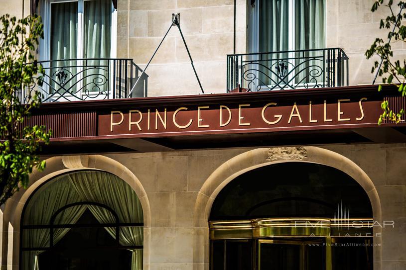Hotel Prince De Galles Exterior